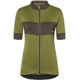 super.natural Grava Maglietta Donna, verde oliva